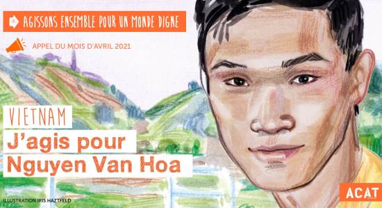 Appel du mois Nguyen Van Hoa